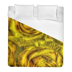 Gorgeous Roses, Yellow  Duvet Cover Single Side (Twin Size)