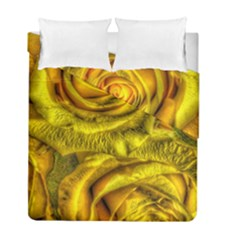 Gorgeous Roses, Yellow  Duvet Cover (Twin Size)