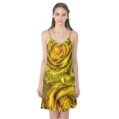 Gorgeous Roses, Yellow  Camis Nightgown