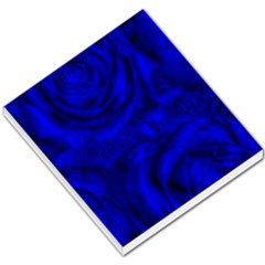 Gorgeous Roses,deep Blue Small Memo Pads