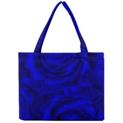 Gorgeous Roses,deep Blue Tiny Tote Bags