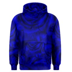 Gorgeous Roses,deep Blue Men s Pullover Hoodies