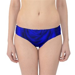 Gorgeous Roses,deep Blue Hipster Bikini Bottoms