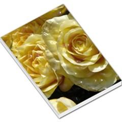 Yellow Roses Large Memo Pads
