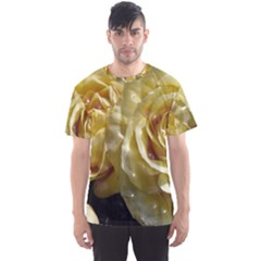 Yellow Roses Men s Sport Mesh Tees