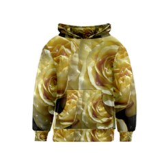 Yellow Roses Kid s Pullover Hoodies