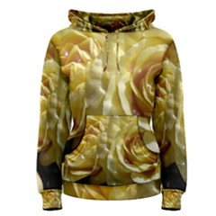 Yellow Roses Women s Pullover Hoodies