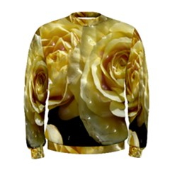 Yellow Roses Men s Sweatshirts