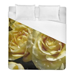 Yellow Roses Duvet Cover Single Side (Twin Size)