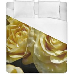 Yellow Roses Duvet Cover Single Side (Double Size)