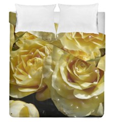 Yellow Roses Duvet Cover (Full/Queen Size)