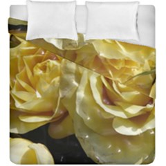Yellow Roses Duvet Cover (King Size)