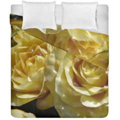 Yellow Roses Duvet Cover (Double Size)
