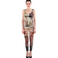 Great Garden Roses, Vintage Look  OnePiece Catsuits