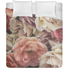 Great Garden Roses, Vintage Look  Duvet Cover (double Size)