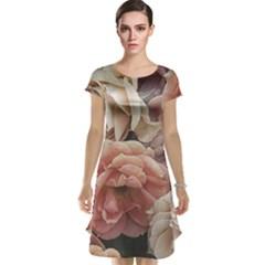 Great Garden Roses, Vintage Look  Cap Sleeve Nightdresses