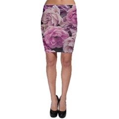 Great Garden Roses Pink Bodycon Skirts