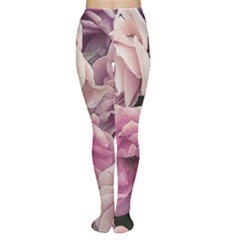 Great Garden Roses Pink Women s Tights