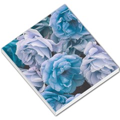 Great Garden Roses Blue Small Memo Pads