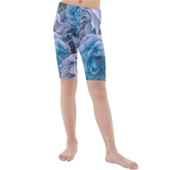 Great Garden Roses Blue Kid s swimwear