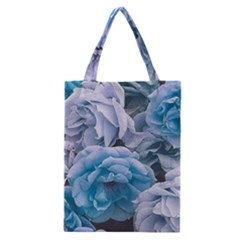 Great Garden Roses Blue Classic Tote Bags