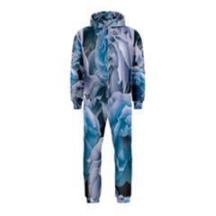 Great Garden Roses Blue Hooded Jumpsuit (Kids)