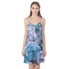 Great Garden Roses Blue Camis Nightgown