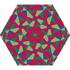 Shapes in squares pattern Umbrella