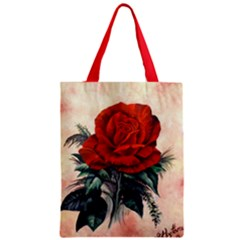 Red Rose #2 Classic Tote Bags