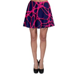 Hot Web Pink Skater Skirts