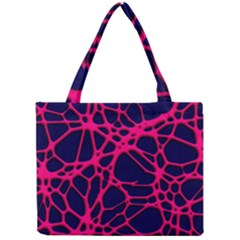 Hot Web Pink Tiny Tote Bags