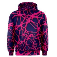 Hot Web Pink Men s Pullover Hoodies