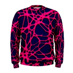 Hot Web Pink Men s Sweatshirts