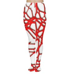 Hot Web Red Women s Tights