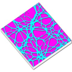Hot Web Turqoise Pink Small Memo Pads