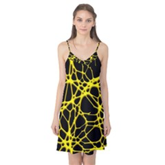 Hot Web Yellow Camis Nightgown