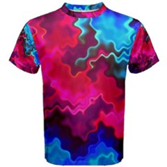 Psychedelic Storm Men s Cotton Tees