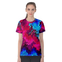 Psychedelic Storm Women s Cotton Tees