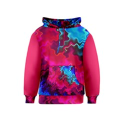 Psychedelic Storm Kid s Pullover Hoodies