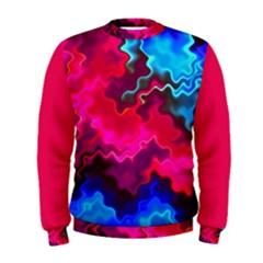 Psychedelic Storm Men s Sweatshirts