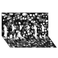 Chaos Decay Mom 3d Greeting Card (8x4)