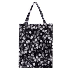 Chaos Decay Classic Tote Bags