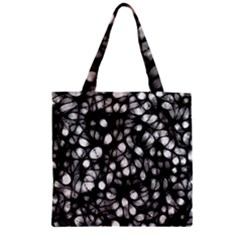 Chaos Decay Zipper Grocery Tote Bags