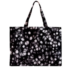 Chaos Decay Zipper Tiny Tote Bags