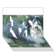 Havanese Full LOVE 3D Greeting Card (7x5)