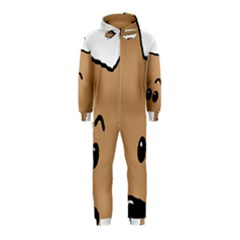 Peeping Yorkshire terrier Hooded Jumpsuit (Kids)