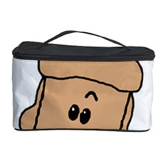 Peeping Peach Poodle Cosmetic Storage Cases