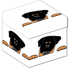 Peeping Rottweiler Storage Stool 12