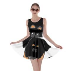 Peeping Rottweiler Skater Dresses