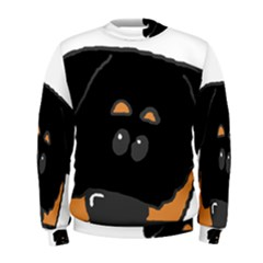 Peeping Rottweiler Men s Sweatshirts